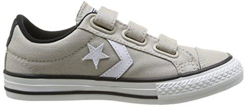 Converse Star Player 3V Ox, Unisex - Kinder Sneaker Beige (Beige (Beige/Blanc))