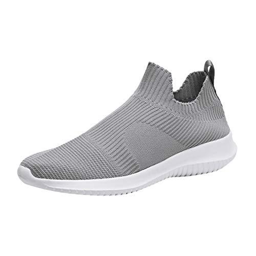 KERULA Sneaker Herren Damen Herrenmode Breathable Slip On Sport Athletic Walking Laufschuhe Turnschuhe Outdoor Sicherheitsschuhe Trekkingschuhe Sneakers Schuhe (Frauen Vans Schuhe Lila)