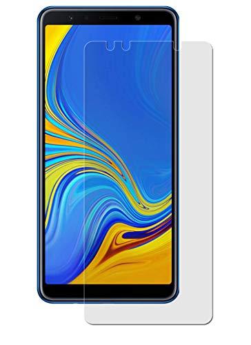 easy-top- Schutzfolie für Samsung Galaxy A7 (2018) - (3 Stück) Antireflex Anti-Shock Displayschutzfolie seidenmatte Antifingerprint Schutz Folie entspiegelte Oberfläche - Oberfläche Top