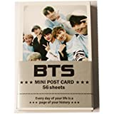 BTS Kpop Bantan garçons Ensemble de mini cartes Photo 59 pcs