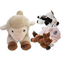 30cm - felpa super suave de vaca suave y yo - Peluches de animales de granja