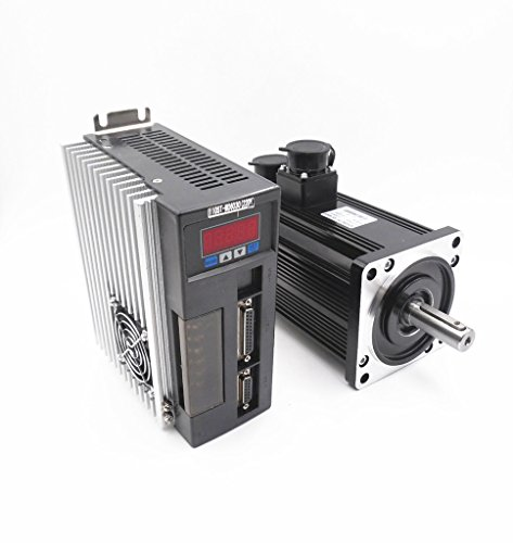 Servo Motor Driver Kit 1,2kW nema422000R/min 6Nm 220V CNC controller Kit 3m Kabel