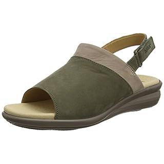 Hotter Women's Augusta Open-Toe Sandals, Brown (Dk Stone Multi), 4.5 UK 37.5 EU