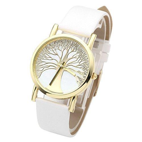 jsdde-montre-femme-motif-arbre-de-la-vie-bracelet-en-similicuir-blanc