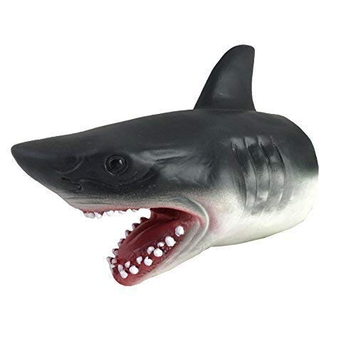 BW & H 18 cm Goma Tiburón Resistente marioneta Mano