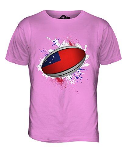 CandyMix Samoa Rugby Ball Herren T Shirt Rosa