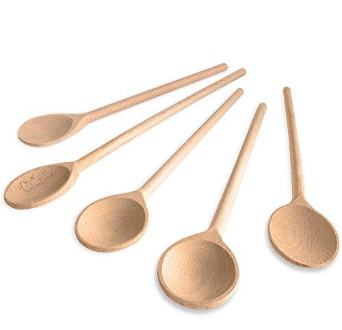 5-tlg-RSW24-Kochlffel-Set-aus-krftigem-Hartholz-25-35cm-Lnge-aus-Buchenholz-Hartholz-Verschiedene-Gren-Kchenutensilien-hergestellt-in-Europa-mit-Back-lffel-und-Koch-Lffel