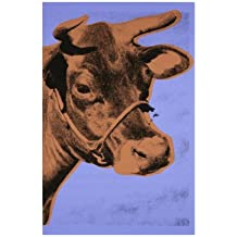 Lámina 'Cow, c.1971 (Purple and Orange)', de Andy Warhol, Tamaño: 36 x 28 cm