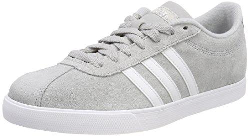 adidas Damen Courtset Fitnessschuhe, Grau (Griuno/Ftwbla/Plamet 000), 36 - Schuhe Klassiker Adidas