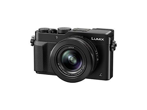 Panasonic Lumix Appareil Photo Compact Expert DMC-LX100EFK (Grand capteur type 4/3 12,8 MP, Zoom LEICA 3x F1.7-2.8, Viseur, Ecran LCD, Vidéo 4K, Contrôles directs, Stabilisé) Noir - Version Française