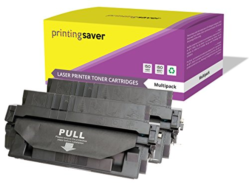 2X Printing Saver SCHWARZ Toner kompatibel für HP Laserjet 5000, 5000DN, 5000GN, 5000LE, 5000N, 5100, 5100DTN, 5100LE, 5100N, 5100SE, 5100TN drucker - 5000gn-drucker