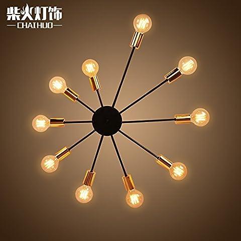 Nordic American personalità creativa di illuminazione luce a soffitto lampade