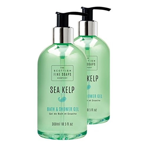 Scottish Fine Soaps Sea Kelp Bath & Shower Gel Twin Pack - Gel Twin Pack
