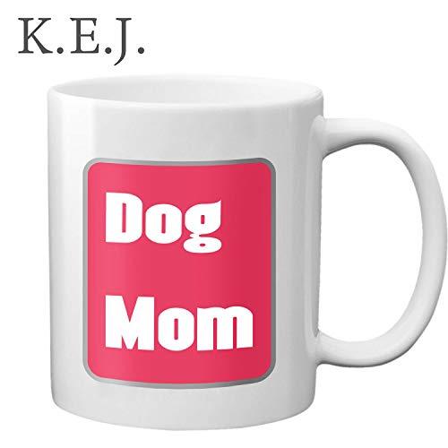 Hund Mom Ever Kaffee Becher Funny Mother 's Day Gifts Keramik Tasse Milch Saft oder Tee Boxsack Geburtstag Geschenke (Becher Kaffee Day Mothers)