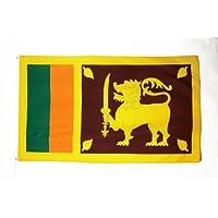 AZ FLAG Sri Lanka Flag 3' x 5' - Sri Lankan Flags 90 x 150 cm - Banner 3x5 ft