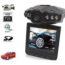 """Lightinthebox@ Cámara grabadora de vídeo 1280P HD LCD de 2,5"""" noche VISION CCTV en-coche DVR accidente VIDEO prueba"""