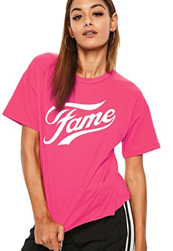 Fame Dance Academy Unisex T Shirt, Pink or Black. Child and adult sizes.