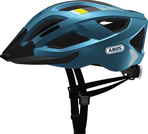 Abus Aduro 2.0 Helmet Steel Blue Kopfumfang L   58-62cm 2019 Fahrradhelm
