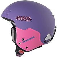 Shred Basher Noshock Casco de Esquí o Snowboard, Unisex Adulto, Air Purple, 54-57.5 cm