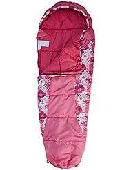 Trespass Bunka Saco de dormir, Unisex niños, Rosa, 165 x 60 x 40 mm