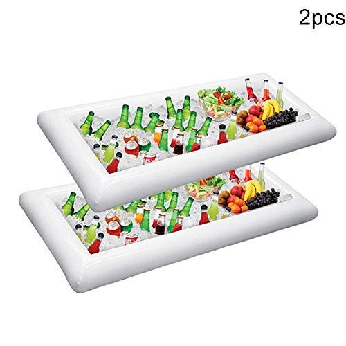 Syfinee gonfiabile insalata a buffet di ghiaccio vassoi da portata porta bibite dispositivo di raffreddamento picnic da barbecue