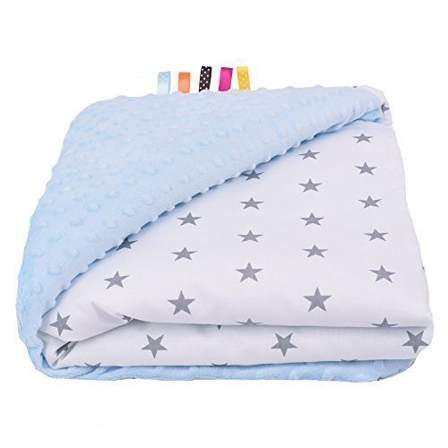 Sevira Ultra Etoile Minky Couverture Bébé Kids Douce Bleu qI4SwPqr