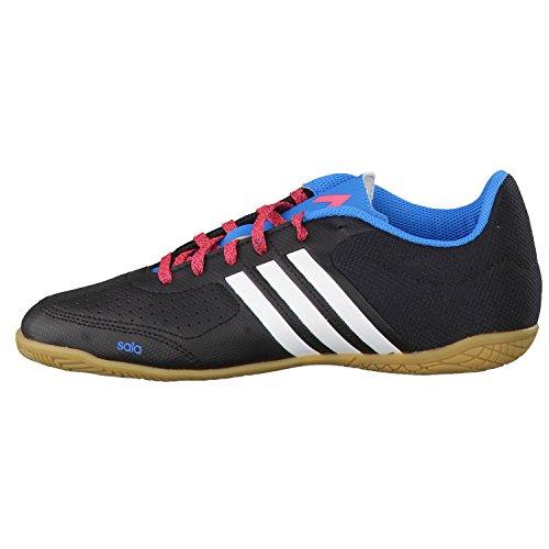 adidas Ace 15.3 Ct J, Chaussures de Futsal Garçon noir-bleu-blanc
