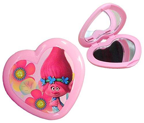 Trolls Borsa specchio a mano-Specchio cosmetico Poppy cuore