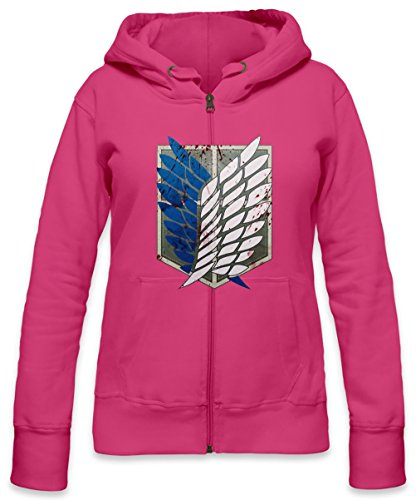 Scouting Legion Crest Womens Zipper Hoodie X-Large -