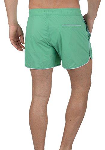 BLEND Zion Herren Swim-Shorts Badehose Schwimm-Shorts Holiday Green (77198)