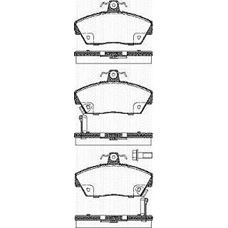 Triscan 8110 17001 Brake Pad Set, disc brake