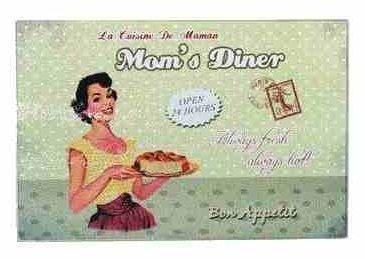 Glas-Schneidebrett, Bon Appetit & Mom's Dinner