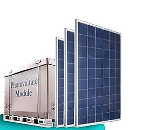 Palette - 1 x 25 x 250 watts panneau solaire poly panneaux solaires et photovoltaïque panneau solaire polycristallin solarXXL - 1300