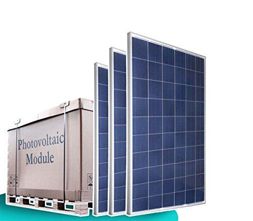 1x Palette - 25x 250W Watt Solarmodul 24V Poly Solarmodule Solarpanel Photovoltaik Polykristallin - solarXXL