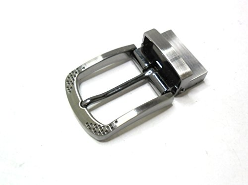 re-belt Wende-Gürtelschnalle (buckle) für 3,5 cm Riemen in Silber-Antik.
