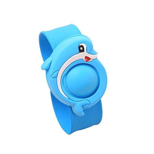 Mückenschutz Armband, ADESHOP Anti Mosquito Pest Lnsect Bugs Repellent Repeller Armband Armband Armband (Blau) (Elektrische Repeller Bug)