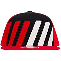 0ada6717cda Marc Marquez 2018 Flatbrim Cap Red Black Adult Size Official Honda MotoGP  Hat
