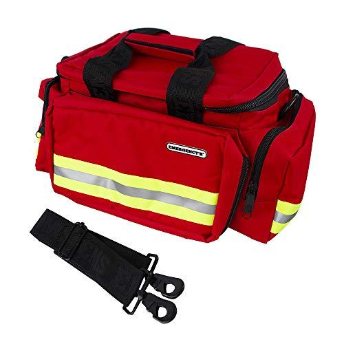 Il borsone rosso per le emergenze è pratico, leggero ed ideale per conservare il kit di primo soccorso. Si tratta di una valigetta per le emergenze, dotata al suo interno di due scompartimenti regolabili ed una tasca elastica a rete con cerniera per ...
