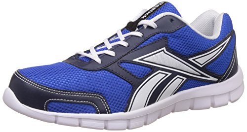 Reebok Men's Ree Scape Run Coll Navy, Vital Blue and White Running Shoes