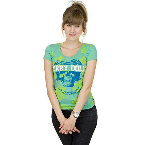Yakuza Premium Damen T-Shirt 2144 grün Grün