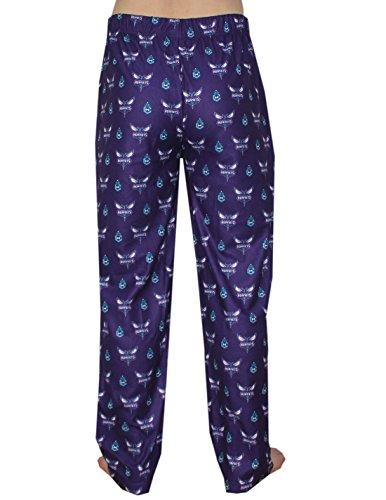 NBA Charlotte Hornets Herren Polar Fleece Nachtwäsche / Pyjama Hose Mehrfarbig