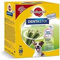 Pack de 28 Dentastix Fresh de uso diario para higiene oral y contra mal aliento para