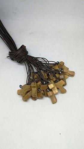 Morani 20 Halsketten mit Tau Kreuz St. Francesco Heiligen Franz von Assisi Olivenbaums - Gemeinschaft Bestätigung
