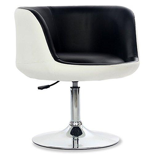 Küche Möbel China (WYGG China-Möbel Drehstuhl mit PU-Leder-Rückenlehne Hochstuhl Bar Küche Frühstück Esszimmer Stuhl kann auf und ab Heben /& (Farbe : B))