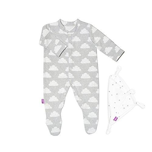 snuz Baby Schlafanzug & Tröster Geschenk Set (0-3m)-Cloud Nine - 2 Tröster Set