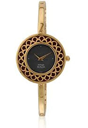 Titan Women's Raga Brown Dial Analog Watch