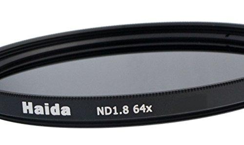Haida Graufilter ND64x für Digitalkameras 46mm + Pro Lens Cap mit Innengriff