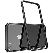 IPhone 7 Cover, iPhone 8 Cover, HUMIXX [iPhone FRAME] Telaio di Design Minimalista con Silicone Interno e Paraurti in Metallo Protezione Leggero Custodia per iPhone 7, iPhone 8 rosso /Extre Series/