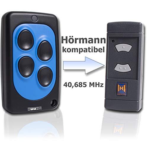 Handsender 40,685 MHz für Hörmann HSE2 und HSM4 graue Tasten 40 MHz Funk Garagentorantrieb