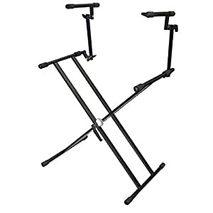 Pyle-Pro PKS60 Double Keyboard Stand